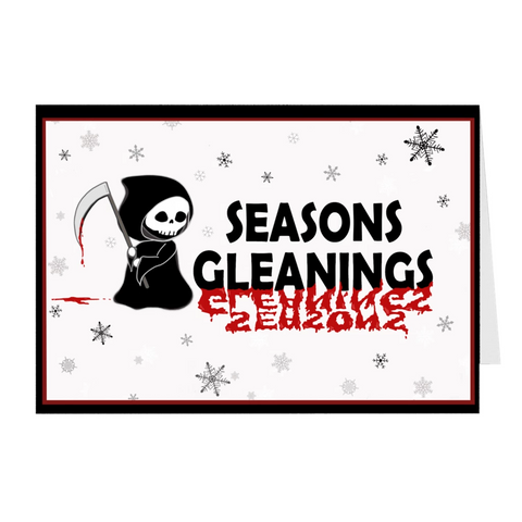 Seasons Gleanings Greeting Cards
