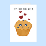 Stud Muffin - Valentines Day card