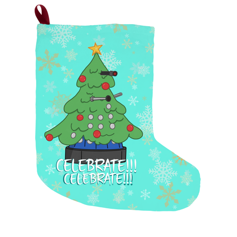 CELEBRATE! Dalek Christmas Stocking
