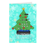 Dalek Tree Greeting Cards