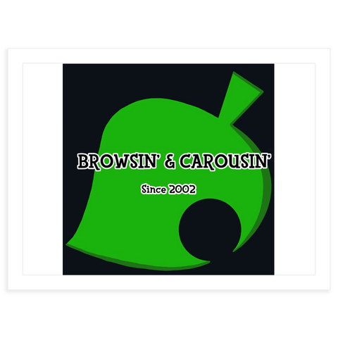 Browsin' & Carousin' stickers