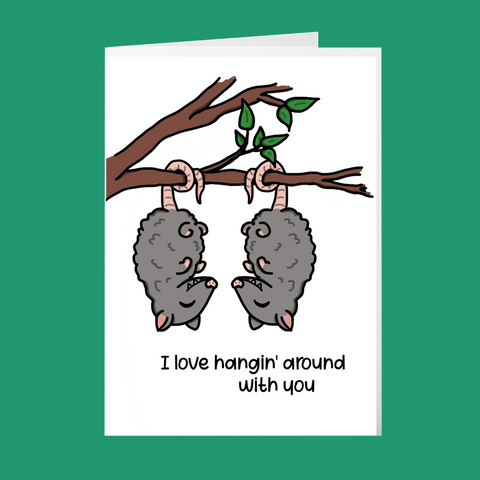 Hangin' Around - Palentines Day Cards