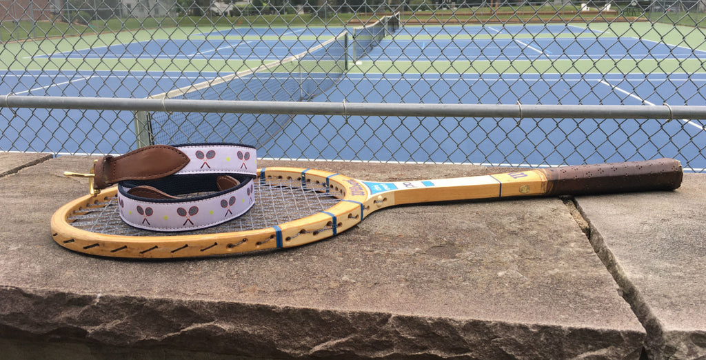 Match Point Ribbon Tennis Belt image