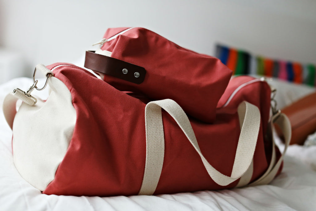 Knot Weekend Duffel Bag and Dopp Kit