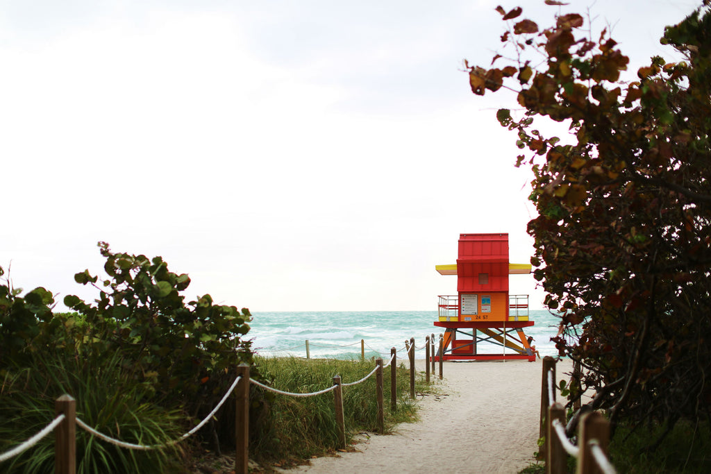 Lifeguard Hut Miami Beach Florida