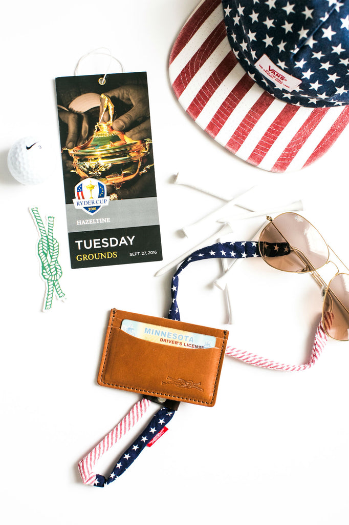 Ryder Cup Essentials, Shadestraps and Wallet