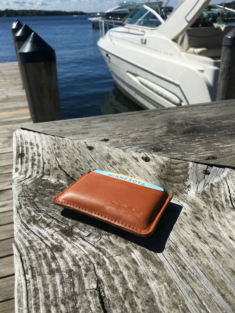 Knot Clothing & Belt Co American Made Club Wallet