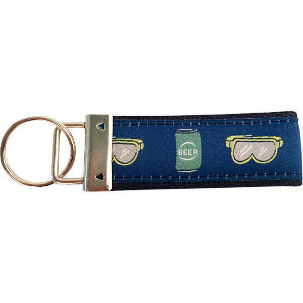 Beer Goggles Key Fob Made in USA