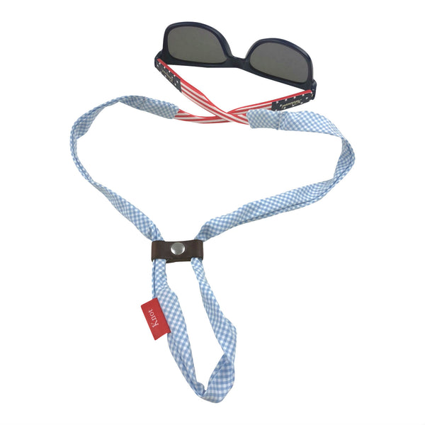 Light Blue Gingham SHADESTRAPS®