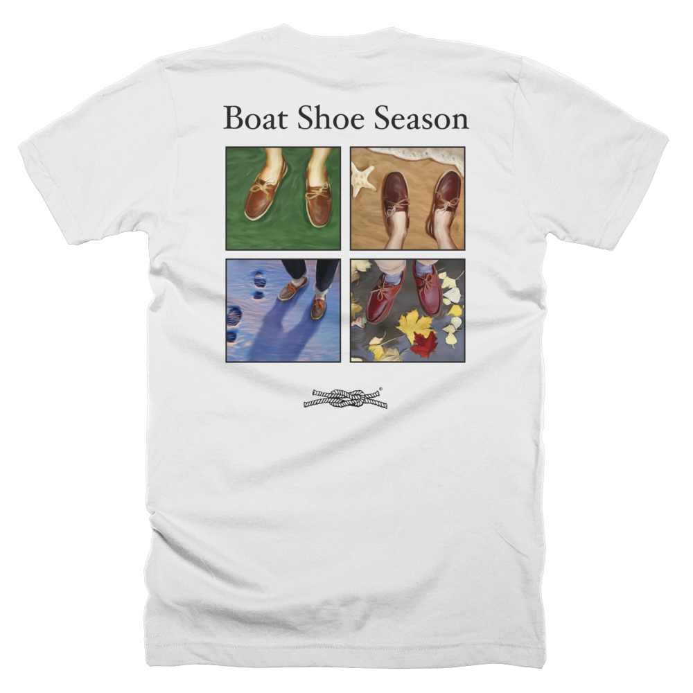 Boat Shoe Season Pocket T-Shirt Made in USA