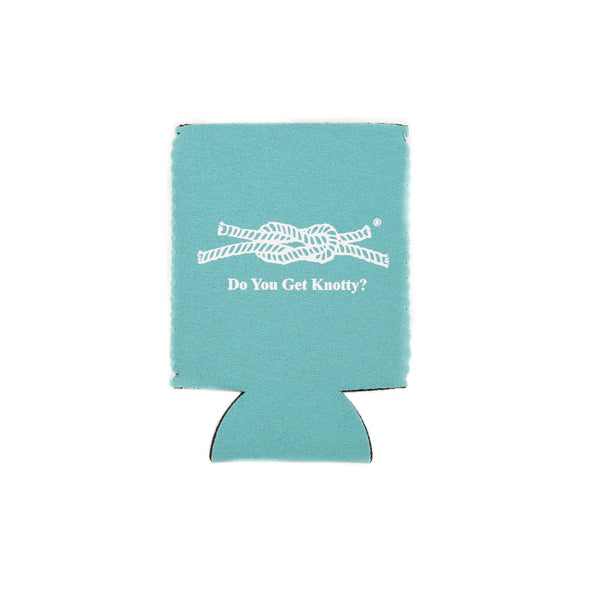 Do You Get Knotty? Koozie in Seafoam
