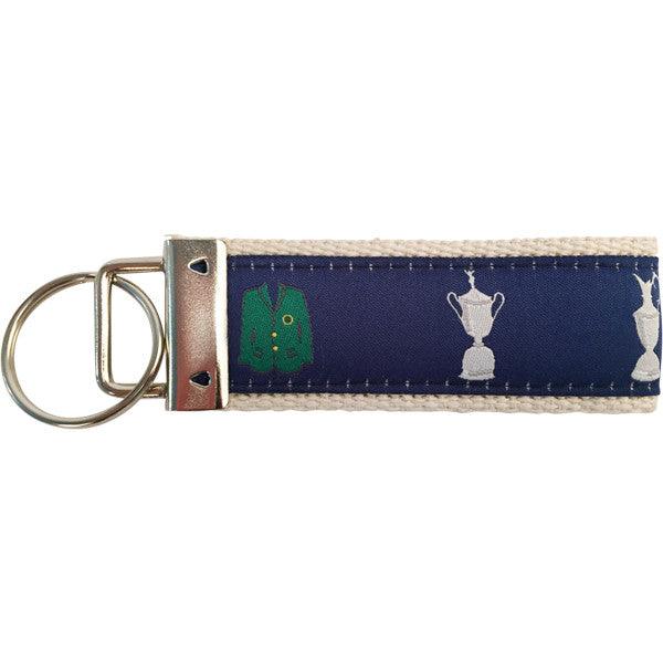 Four Majors Golf Key Fob Made in America