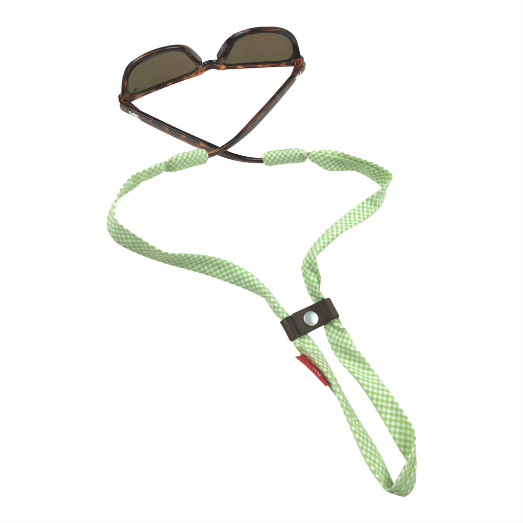 Green Gingham SHADESTRAPS®