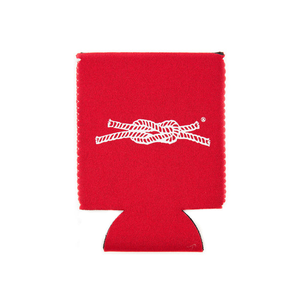 Knot Classic Koozie in Red Made in USA