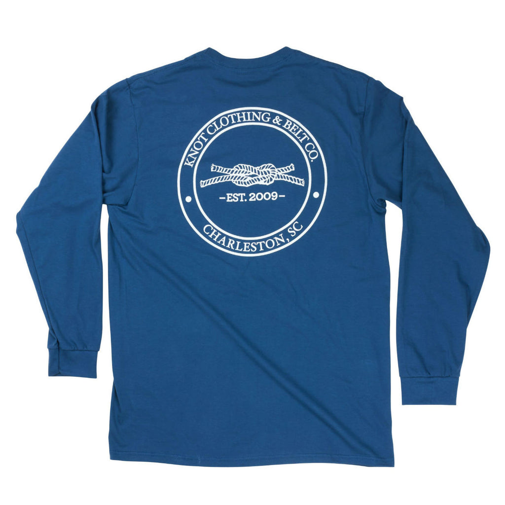 Knot Classic Long Sleeve in Blue Back