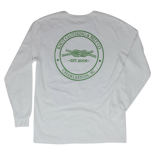 Knot Classic Long Sleeve in White Back