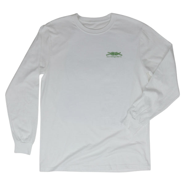 Knot Classic Long Sleeve in White Front