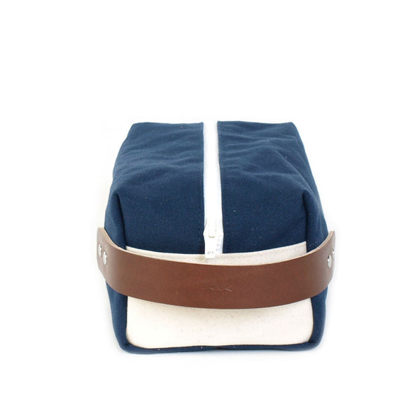 Made in America Navy Canvass Dopp Kit by Knot Clothing