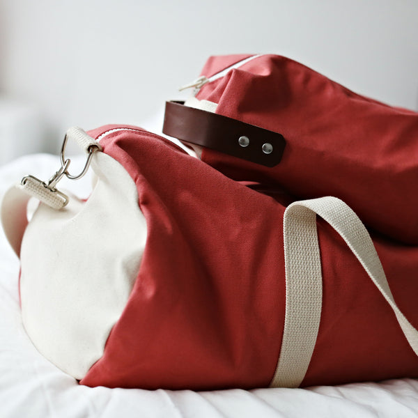 Preppy Tommy Duffel Bag - Nantucket Red