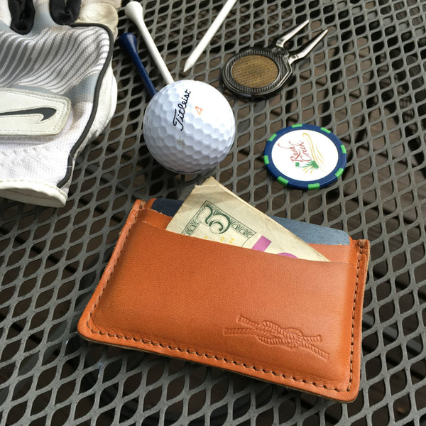 Knot Clothing Leather Club Wallet, Made in USA