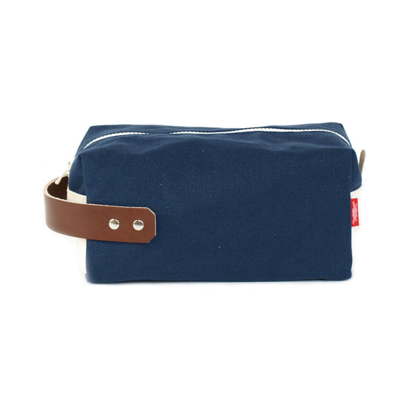 Preppy Navy Dopp Kit Made in USA by Knot Clothing