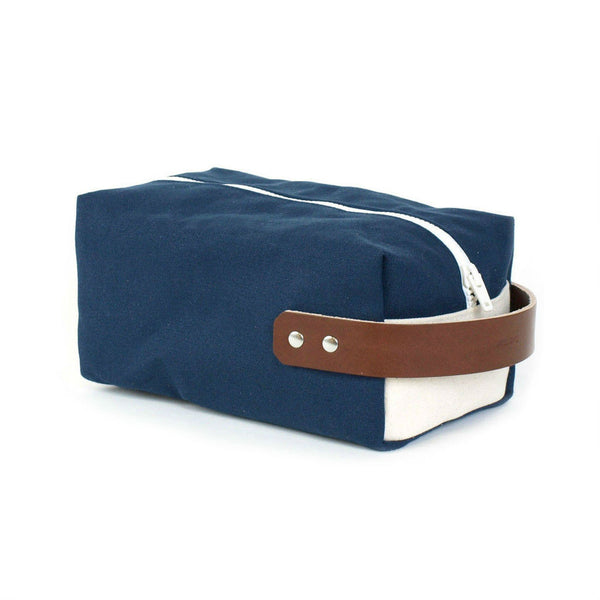 Knot Clothing Preppy Navy Dopp Kit Made in USA
