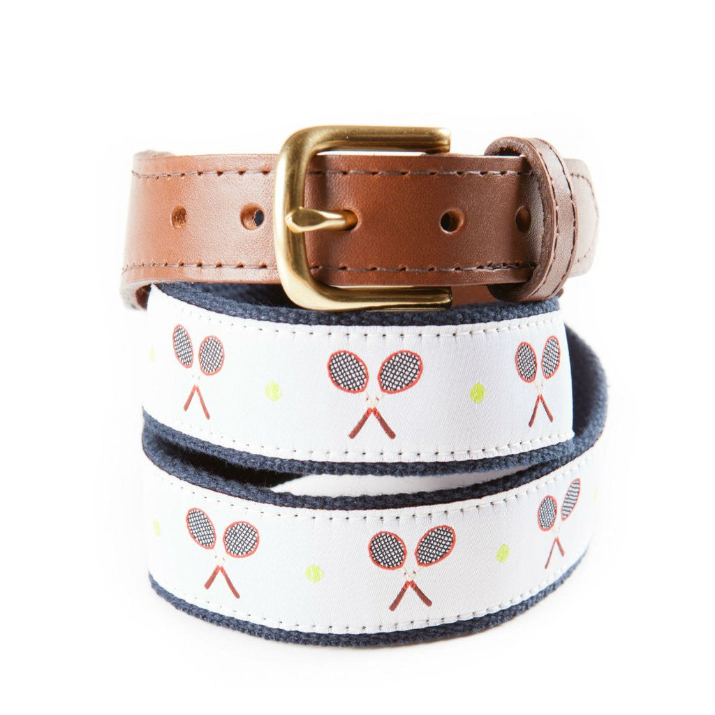 Match Point Ribbon Tennis Belt