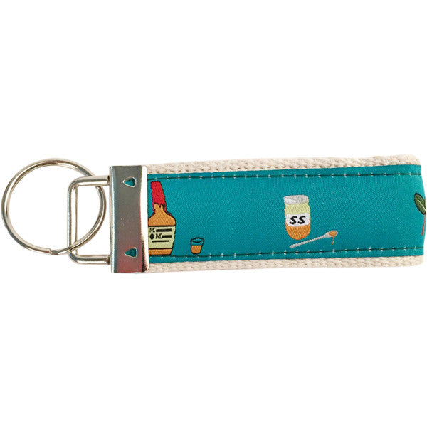 Mint Julep Key Fob, Made in America