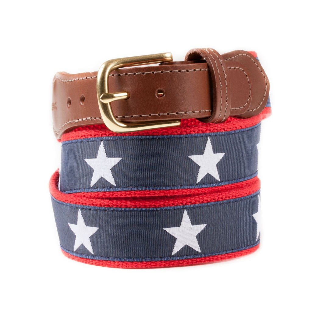 Oh My Stars Ribbon Belt, Made in America