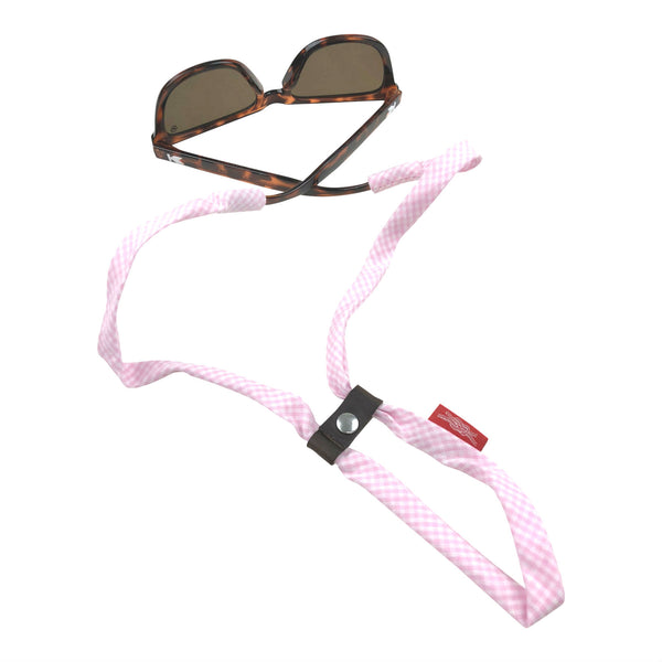 Pink Gingham SHADESTRAPS®