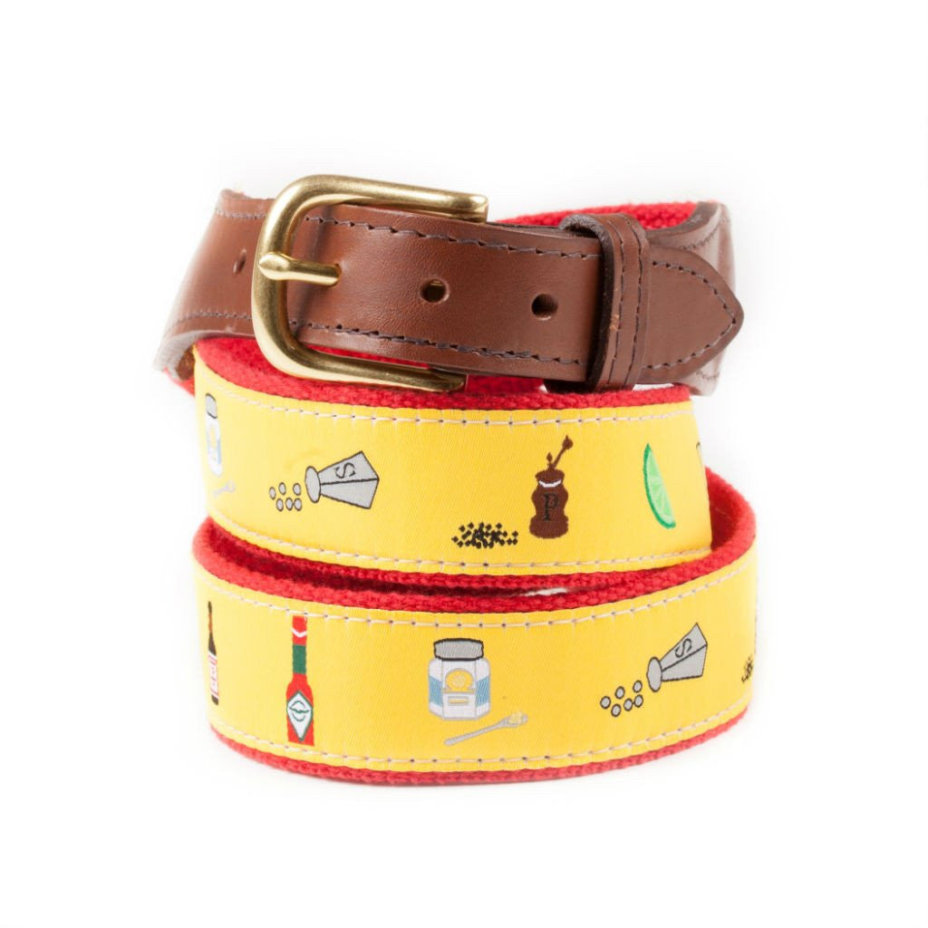 The Perfect Bloody Mary Ribbon Belt Made in USA