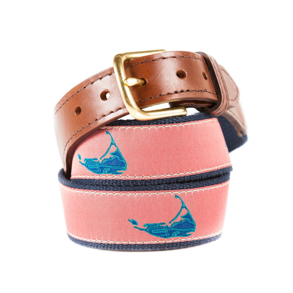 Nantucket Fabric Belt, Made in USA
