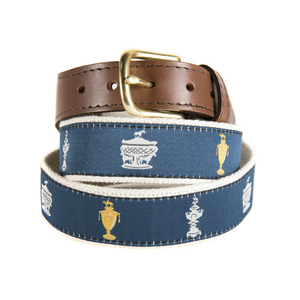 Triple Crown Ribbon Belt