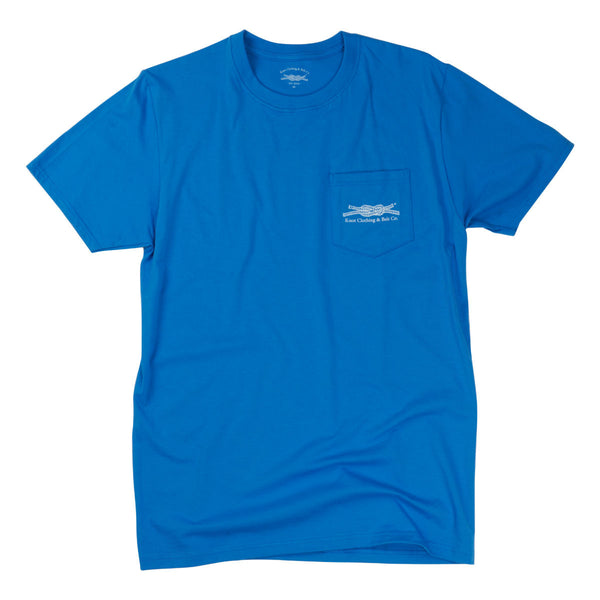You Can Dance Trust Me Pocket T-Shirt in Blue
