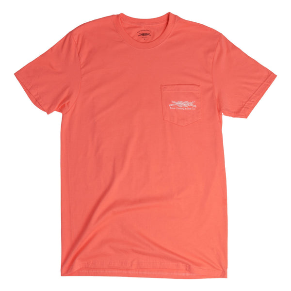 You Can Dance Trust Me Pocket T-Shirt in Orange