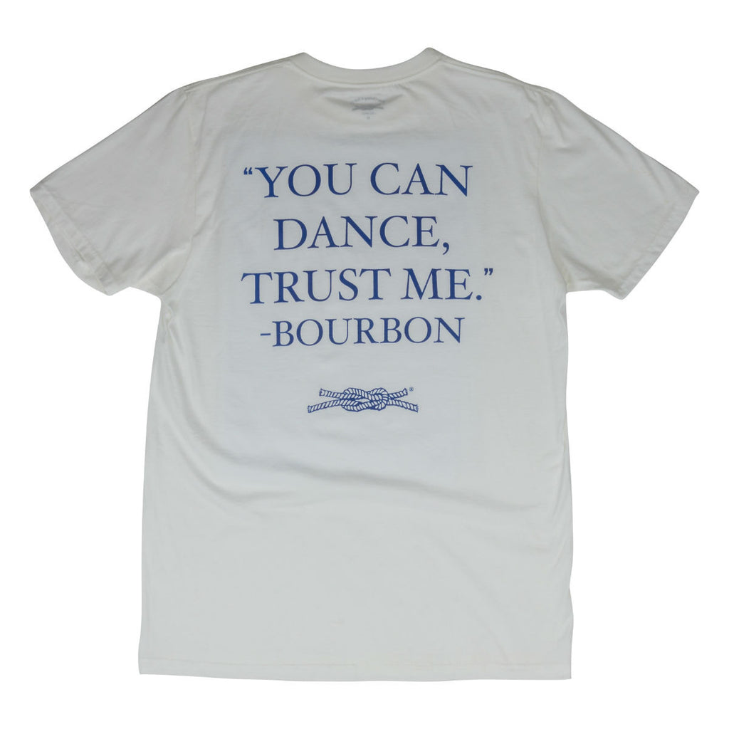 You Can Dance Trust Me Pocket T-Shirt in White