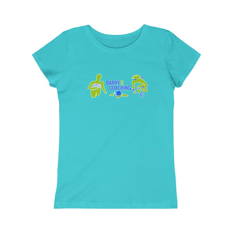 BarryS Coaching Girls Princess Tee