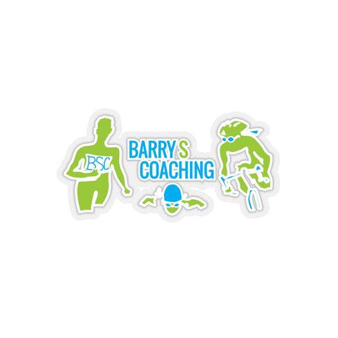 BarryS Coaching -  Car Stickers