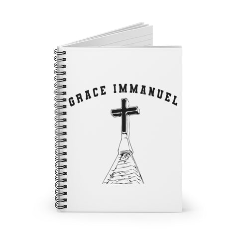 Grace Immanuel UCC Spiral Notebook - Ruled Line