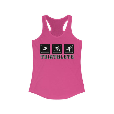 Triathlete -  Racerback Tank