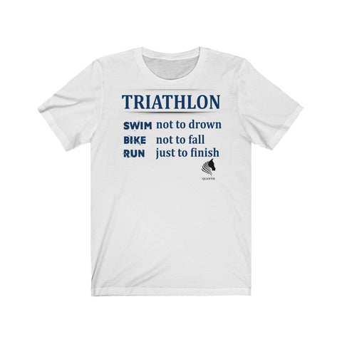 Triathlon Swim Bike Run Unisex Jersey