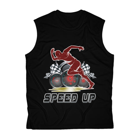 Speed Up Men's Sleeveless Performance Tee