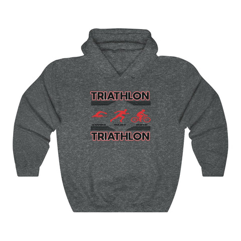 TRIATHLON Unisex Heavy Blend™ Hooded Sweatshirt