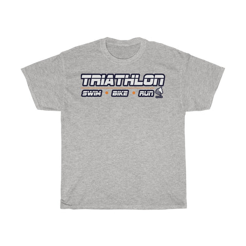 Swim Bike Run Heavy Cotton Tee