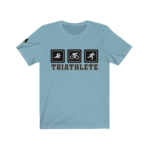 TRIATHLETE Unisex Short Sleeve Tee