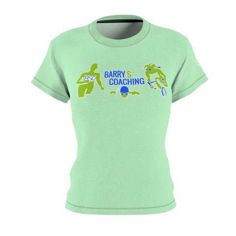 BarryS Coaching Tech Tee Women's - Green