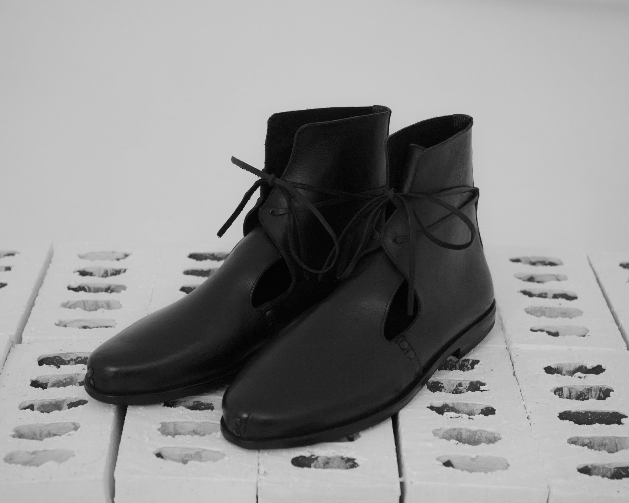 Omar Afridi High Cut Quarter Boot (Black)