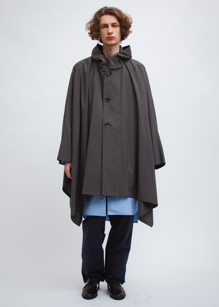 Omar Afridi Pastoral Cape (Dark Grey)
