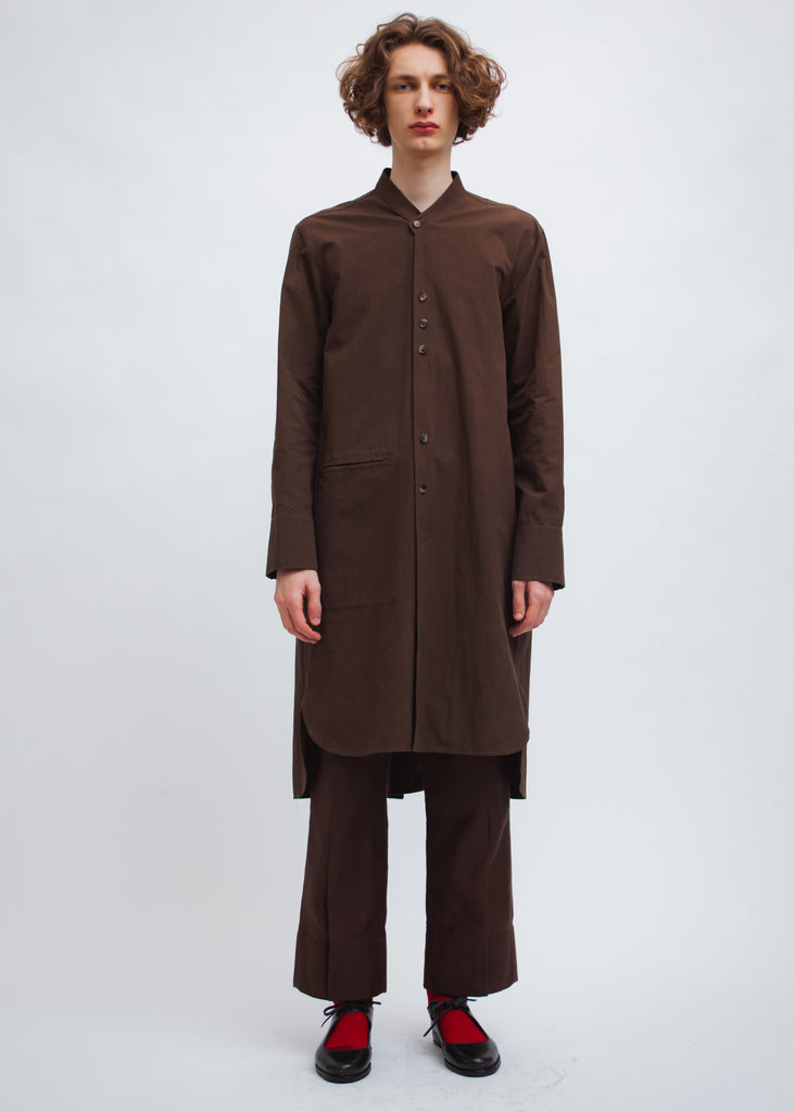Omar Afridi Omar Shirt (Brown Mid Weight Cotton)
