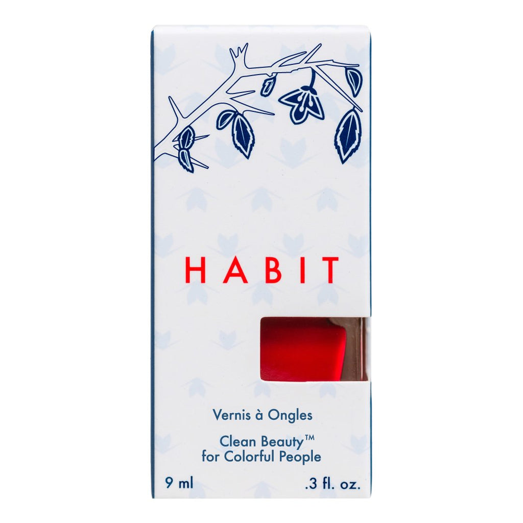 Habit Cosmetics Skincare Ingredient Infused Non-Toxic + Vegan Nail Polish in 22 Diabolique